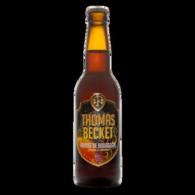 Bière rousse l'embrasée THOMAS BECKET 6.5°, bouteille 33cl v