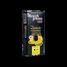 Café breizhpresso doux CAFES COIC, 50g