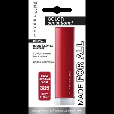 Rouge à lèvres rouge à lèvres color sensational made for all 385 MAYBELLINE
