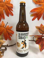 Kiss'Wing - Bière Ambrée Artisanale - Bio 50cl