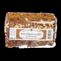 Pain d'épices au miel à l'ancienne LES RUCHERS DE BOURGOGNE, 500g