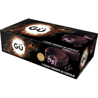 C ur fondant au chocolat GÜ, 2x100g