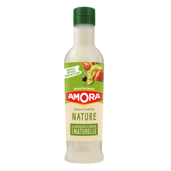 Sauce crudité moutarde AMORA, flacon de 380ml