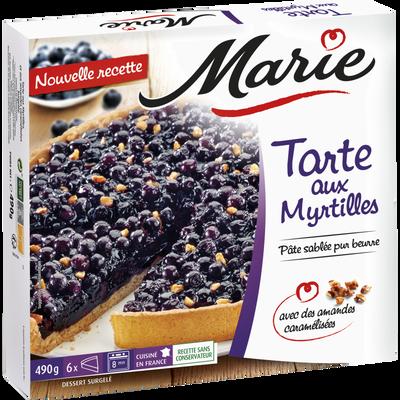 Tarte aux myrtilles MARIE, 490g