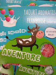 *YAOURT FRAMBOISE 4X125G OMBREE D'ANJOU