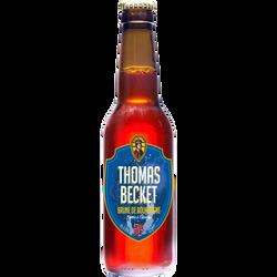 Bière brune THOMAS BECKET 6.8°, bouteille de 33cl