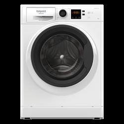 Lave-linge frontal HOTPOINT NS1043CWKEUN blanc-capacité 10kg-1400 trs-classe énergétique A+++