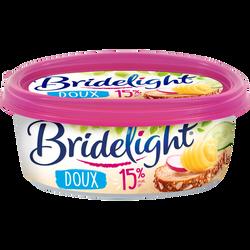 Matière grasse à tartiner doux BRIDELIGHT, 15%MG, 250g