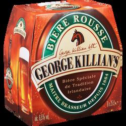 Bière GEORGES KILLIAN'S, 6,5°, 6x25cl