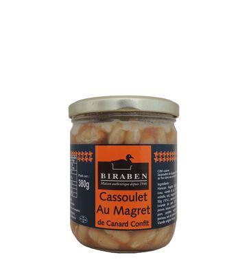 Biraben, Cassoulet aux Magret de Canard Confit, 380g