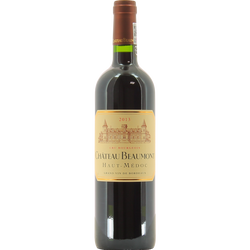 """Vin rouge AOP Haut Médoc """"Château Beaumont"""", 6 bouteilles de 75cl"""