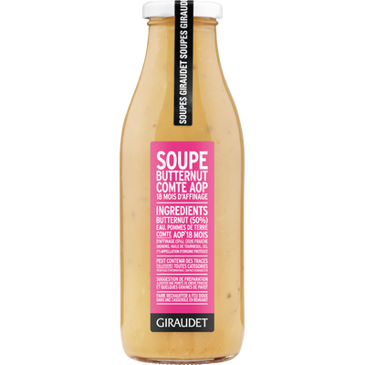Soupe butternut comte, AOP, bouteille, 500ml