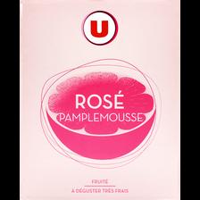 Bois.aromatisée à base de vin rosé/pamplemousse U 7,5° bib3L