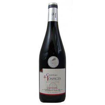 Vin Rouge DOMAINE DES HOSPICES , Côtes du Roussillon, bouteille de 75Cl