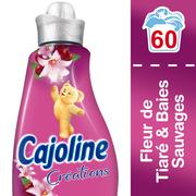 Cajoline Assouplissant Parfum Tiaré Et Baies Brin De Folie Cajoline, 60 Lavagessoit 1,5l