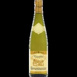 Vin blanc AOP Alsace Gewurztraminer Rosenhof U, 75cl