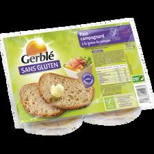 Pain campagnard sans gluten GERBLE, 350g