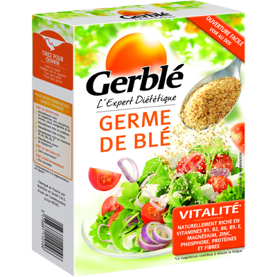 Germes de blé GERBLE, étui verseur de 250g