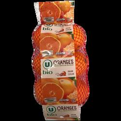 Orange Valencia late, U BIO, calibre 2, catégorie 5/6, Espagne, girsac1,5kg