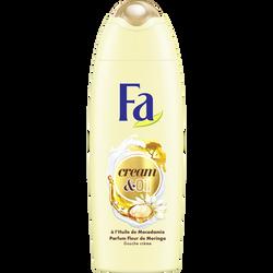 Gel douche à l'huile de macadamia et parfum fleur de moringa FA, 250ml
