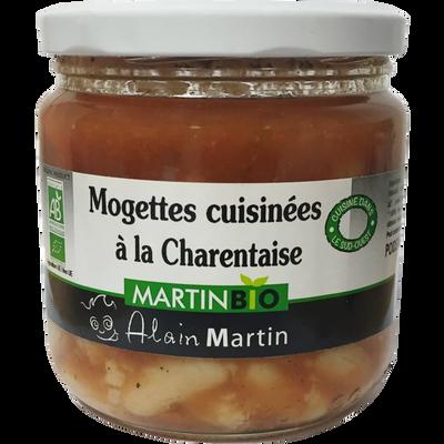 Mogettes cuisinées à la charentaise BIO MARTIN BIO, 380g