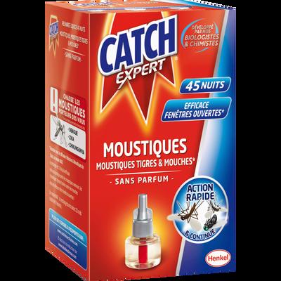 Recharge électrique liquide anti-volants sans parfum CATCH, x45 nuits