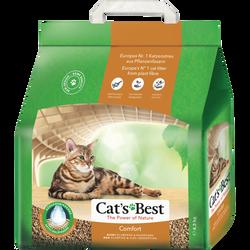 Litière Végétale comfort CAT'S BEST, paquet de 10l