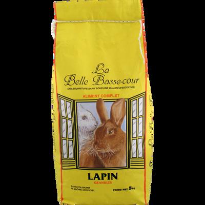 Granulés pour lapins LA BELLE BASSE COUR, 5kg