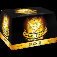 Bière blonde, GRIMBERGEN, 6,7°, pack de 20 bouteilles de 25cl