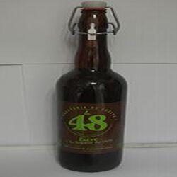Bière à la liqueur de cèpes La 48 BRASSERIE DE LOZERE 5% Vol., 75cl