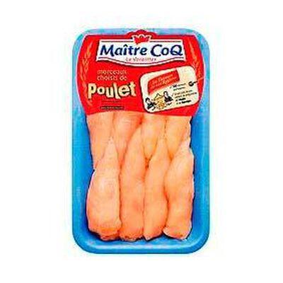 Aiguillettes de poulet MAÎTRE COQ, 8 pièces