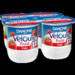 Velouté fruix à la fraise DANONE, 4x125g