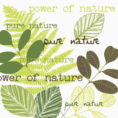 """Serviettes en papier """"Pure Nature Green"""" HAPPY PAPER, 3 plis, 33x33cm,20 unités"""