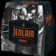 Jenlain Bière Ambrée Jenlain 7,5°, Pack De 6 De 25cl