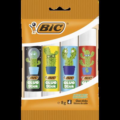 Colle Eco Glue Stick BIC, 8g, 4 unités