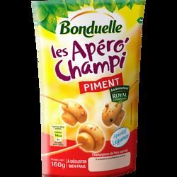 Champignons de Paris aux piments ROYAL CHAMPIGNON, 160g