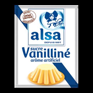 Alsa Sucre Vanilliné Alsa, 12 Sachets, 90g