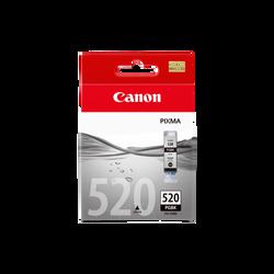 Cartouche d'encre CANON pour imprimante, PGI 520 noir, sous blister