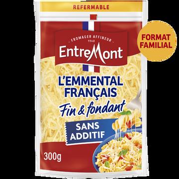 Entremont Emmental Râpé Lait Thermisé Francais Entremont, 29% De Mg, 300g