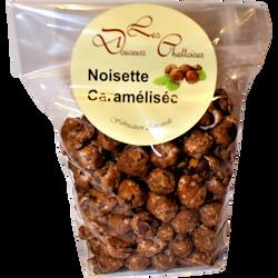 Noisettes caramélisées LES DOUCEURS CHATTOISES, sachet 200g