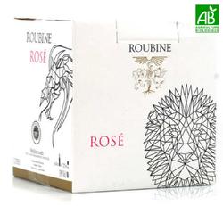 BIB ROUBINE ROSE 3L - IGP Méditerranée