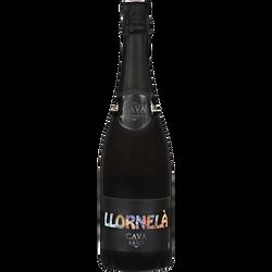Vin mousseux Cava brut Llornelà U, 75cl