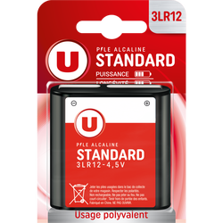 Pile U, Standard, 3LR12, 4,5v