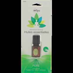 Diffuseur de parfum Pure, AIR SPA, pour aérateur, à base d'huiles essentielles d'eucalyptus, citron, citron vert et menthe