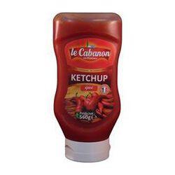 Ketchup épicé top down CABANON 560g