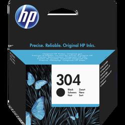 Cartouche d'encre HP pour imprimante, N9K06AE noir N°304, sous blister