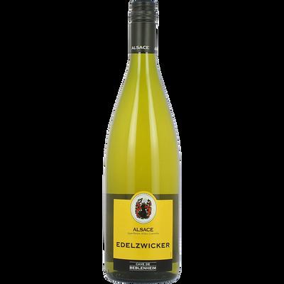 Vin blanc AOC d'Alsace Edelzwicker Cave vinicole de Beblenheim, 1l