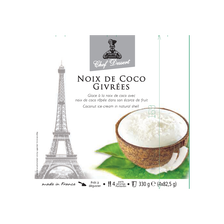 glace Noix de coco givrées CHEF DESSERT, 4x270g