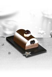 Bûchette forêt noire chocolat, 2 pièces, 190g