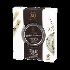Spécialité à base de beurre et de caviar U SAVEURS, 30g